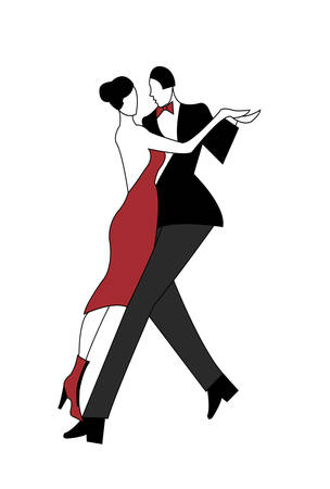 argentine: tango dancers