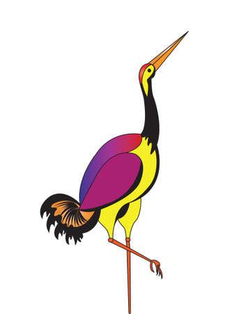 egret: Crane