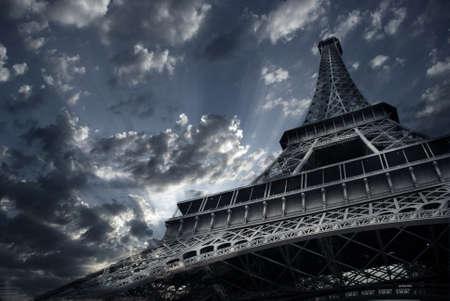 trocadero: Eiffel tower
