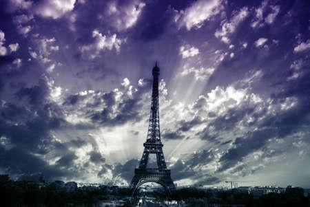 Eiffel tower, Paris photo