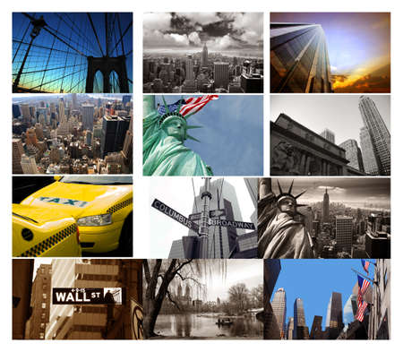 New York composite Stock Photo - 13125304