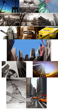 New York composite Stock Photo - 13125302
