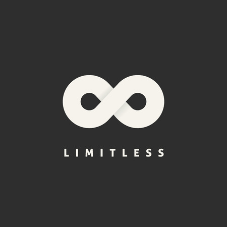 infinity symbol: Limitless Concept Symbol Icon