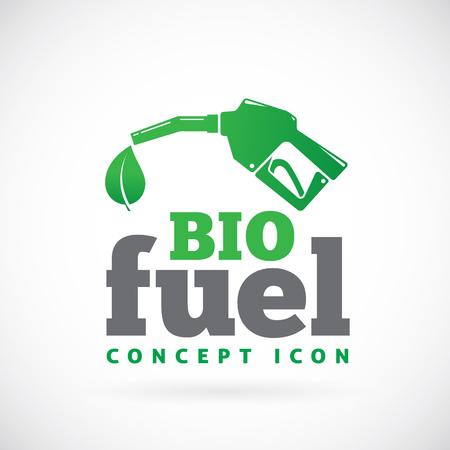 Bio fuel vector symbol icon Vector