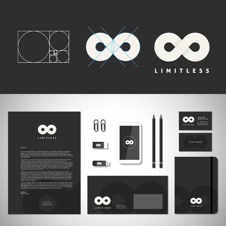 stationary: Limitless Abstract Template and Identity