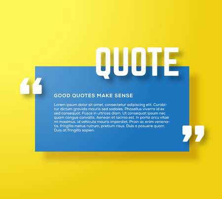 Rectangle motivation quote template vector yellow background rectangle motivation quote template vector yellow background with realistic soft shadows good for inspiration texts reheart Images