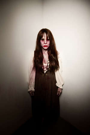 satanist: Village witch or alien zombie trapped in corner