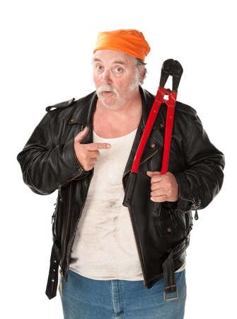 boast: Ladro di grasso con grande rosso bullone fresa