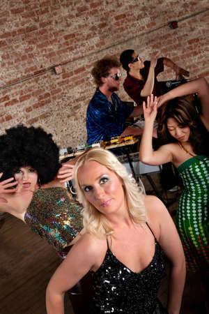 1970s Disco Music Party photo