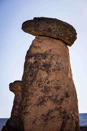 Rock formation in Cappadocia Turkey