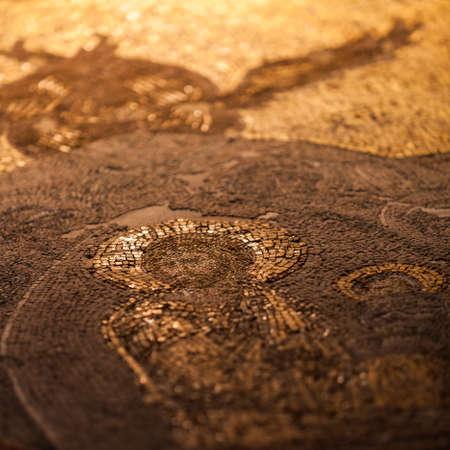 chora: Detail of Chora Church Jesus Mosaic