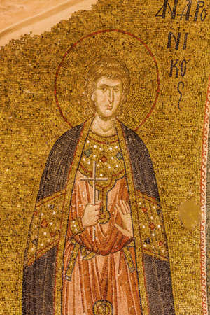 Saint saviour Mosaic at Chora Church