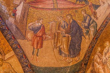 chora: La curaci�n del Sordo en la iglesia de Chora