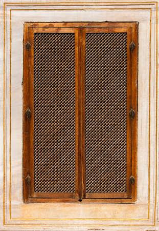 Turkish Window Screen from Ottoman Era Building photo