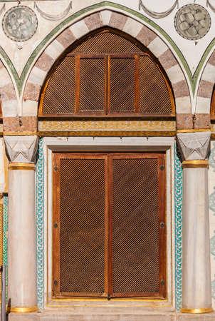 Turkish Window Screens from Ottoman Era Building photo