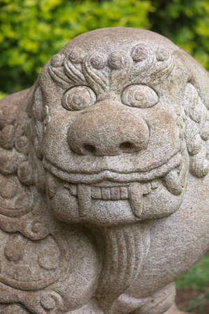 chimera: Chinese Stone Chimera Known as a Qilin