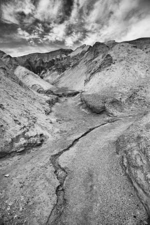 rivulet: Rivulet at Golden Canyon in Death Valley
