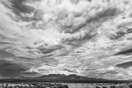 buildup: Humidity buildup in sky during monsoon season in Arizona, USA