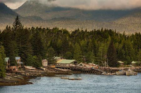 ramshackle: Rustic coastal fishing and marine salvage on Alaskan Inner Passage