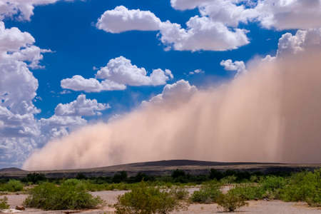 Haboob dust storm in the Arizona desert