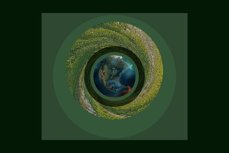Nature conservation button, it is a statement of people s choice, in order to protect the environment Фото со стока