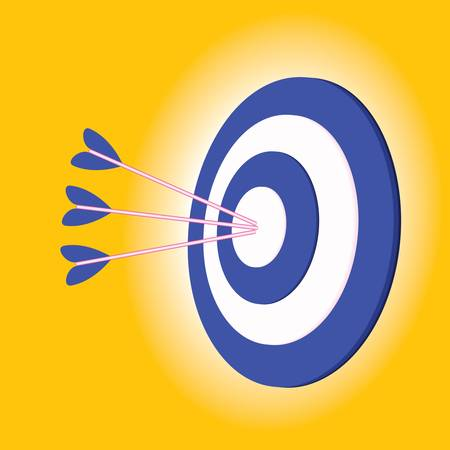 execution: Dart in the bullseye of a target