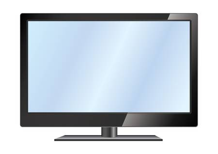 image LCD TV  Excellent quality for your design Stock Vector - 13548321