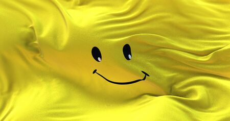 smile textile cloth fabric waving