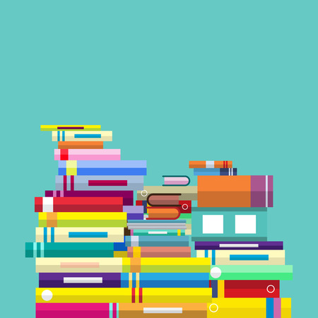 vector education concept, book store shipping Vectores