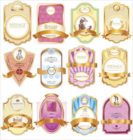 product packaging: Pastel Labels
