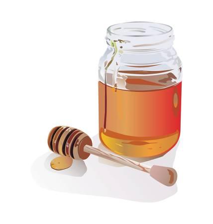 pot miel: Honey Bee