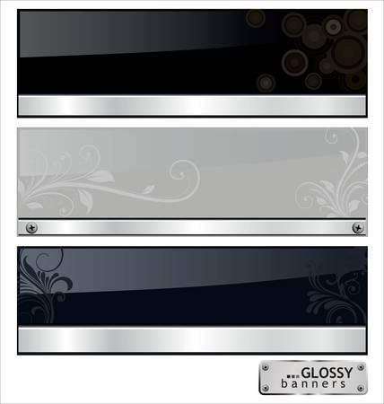 steel sheet: Glossy Banners