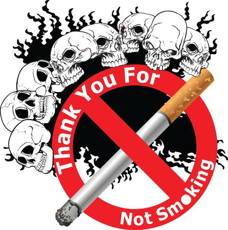 poison sign: No Smoking