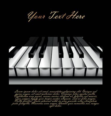 Piano Key Stock Vector - 9746735