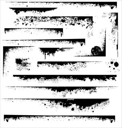 bordure de page: Bords du grunge