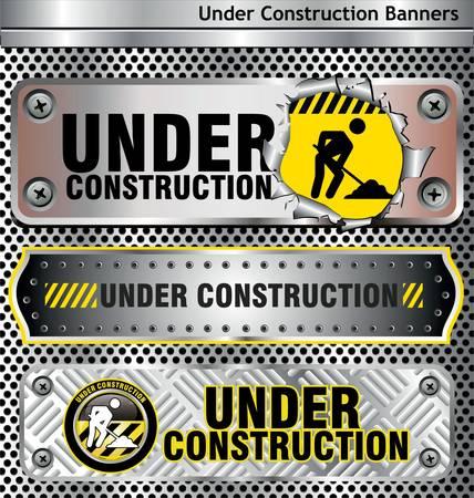 建設: 工事中  イラスト・ベクター素材