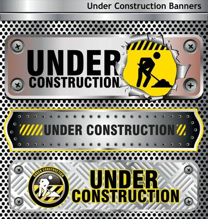 construction icon: Under construction Illustration