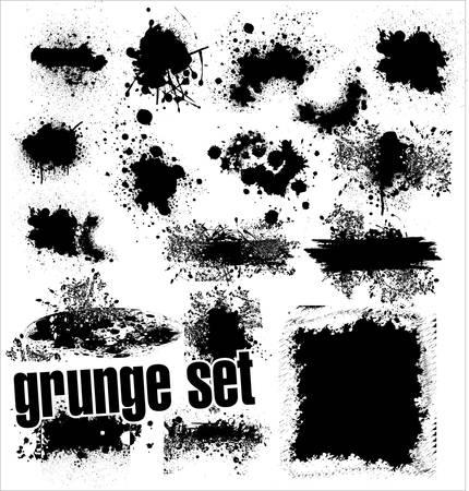 ink stain: Grunge Set