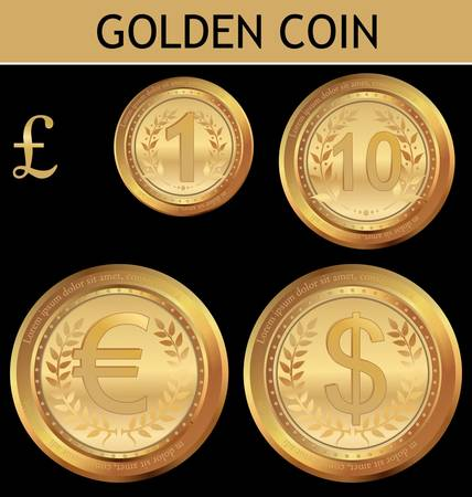 currency exchange: Golden  Coin