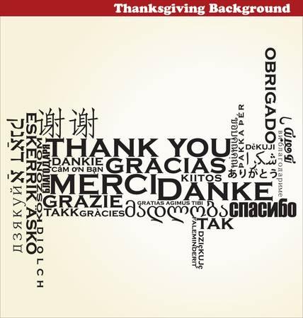 Thanksgiving achtergrond Vector Illustratie