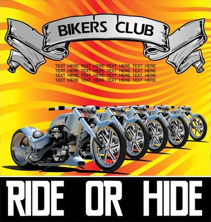 chopper: Custom Bike Illustration