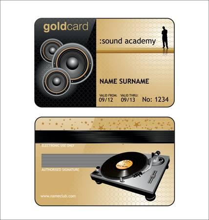 Vip House Club Card Stock Vector - 9931819