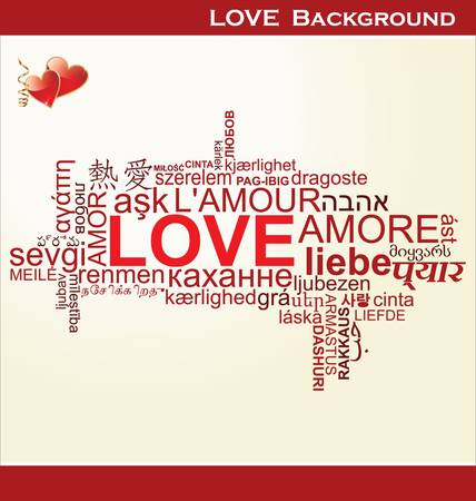 modern: Love background