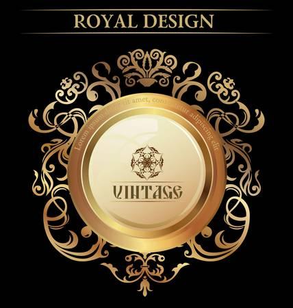 luxe: Vintage �l�ment Royal Design