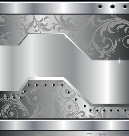 steel construction: Abstract metallic background