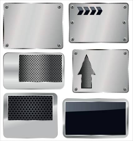 polished: Antecedentes de metal perforado