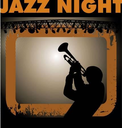 tenore: sfondo musicista jazz Vettoriali