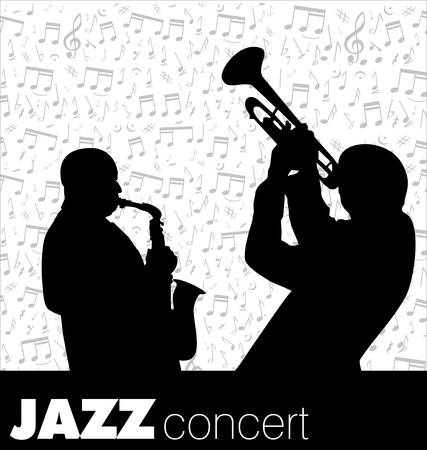 arrière-plan de musiciens de jazz
