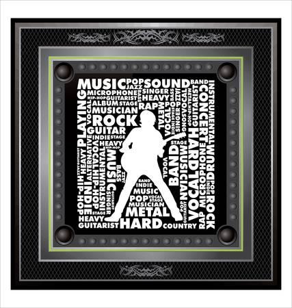 fonts music: Music banner