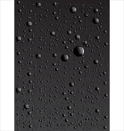 deep water: Water drop background